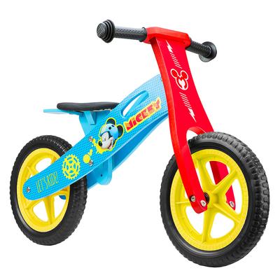 draisienne vélo en bois mickey 12 pouces