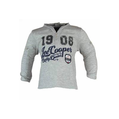 T-shirt manches longues Lee Cooper du 6 au 24 mois gris