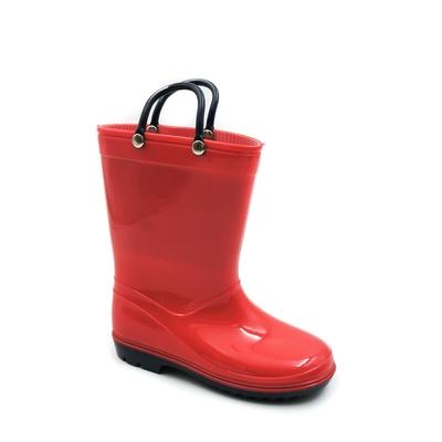 Bottes de pluie 26 au 31 rouge