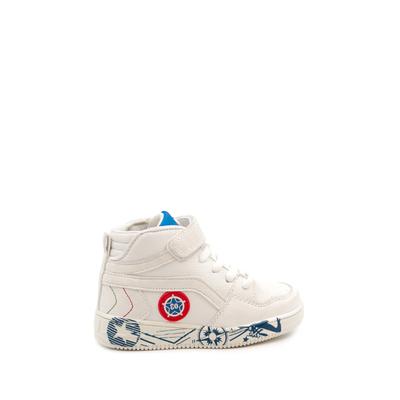 Baskets montantes max shoes kids 25 au 36 blanc