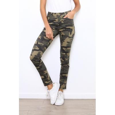 pantalon militaire kaki 2970 miss bon xs au xl