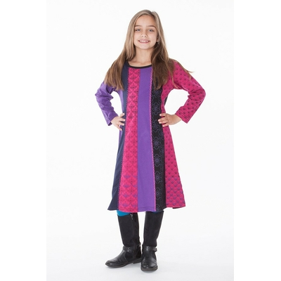 robe ethnique fille aller simplement KIDRO302  3 ans au 10 ans