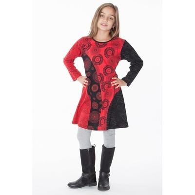 robe ethnique fille aller simplement KIDRO308  3 ans au 10 ans
