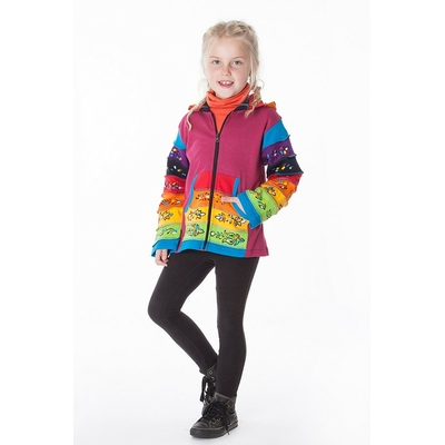 Sweat multicolore ethnique fille aller simplement kidsw206  3 au 10 ans