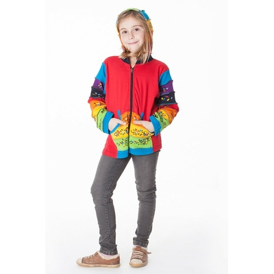 Sweat multicolore ethnique fille aller simplement kidsw208  3 au 10 ans
