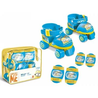 Set Roller Minions + protections - genouillères et coudières