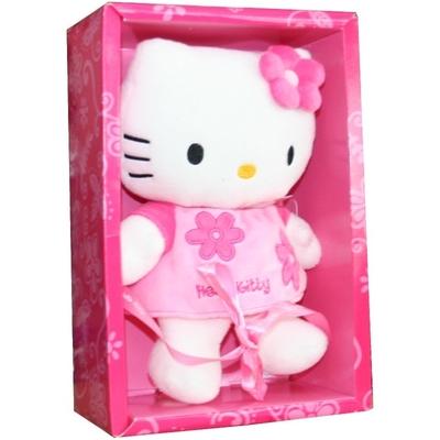 Peluche Hello Kitty 27 cm rose en boite