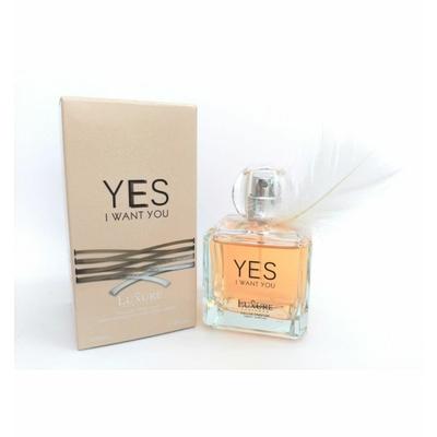 eau de parfum yes i want you de luxure parfums 100 ml pour femme