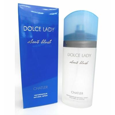 eau de parfum doce lady about blush de chatler 100 ml pour femme