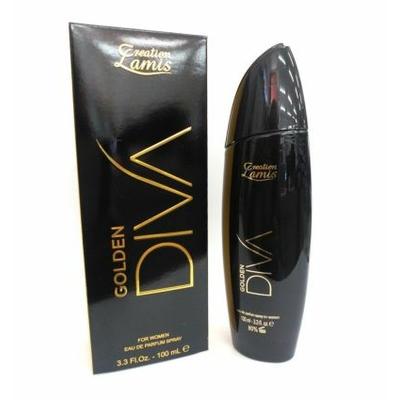 eau de parfum golden diva de lamis 100 ml pour femme