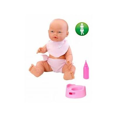 Poupée bébé 35 cm pipi et biberon