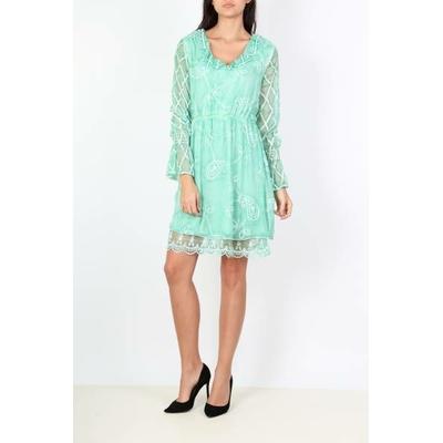 robe 101 idées N1251 vert