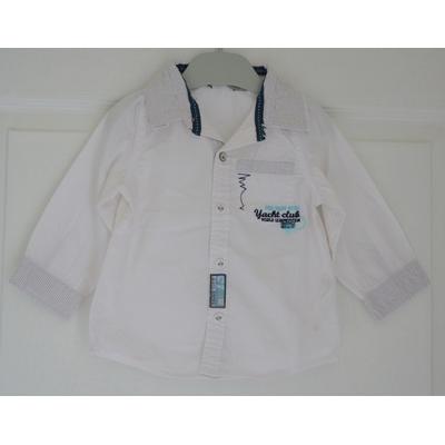 chemise blanche garçon 18 mois tape à l'oeil