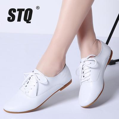 chaussures en cuir femme oxford STQ 2018 divers coloris (ali)