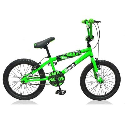 """vélo bmx DINGO 18"""" vert"""