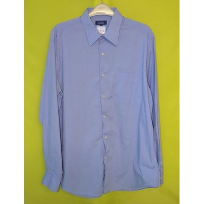 chemise homme texbasic shirts collection 41/42 bleu