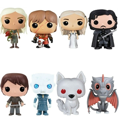 game of thrones - figurine Funko POP divers modeles sans boite