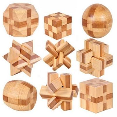 puzzle casse tete 3D en bois