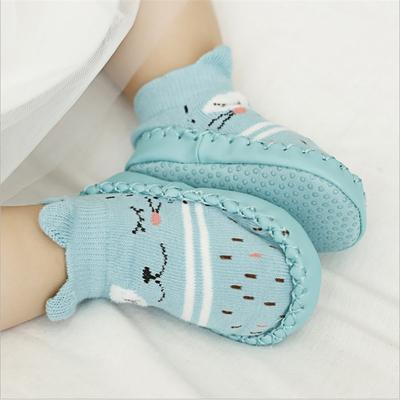 chaussette semelle bébé 6-24 mois divers coloris