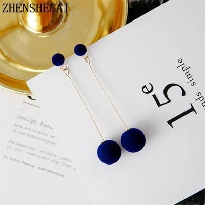 boucles d'oreilles perle eo371 zhenshecai divers coloris