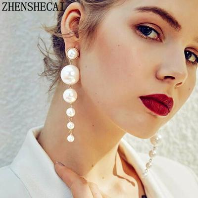 boucles d'oreilles perle eo207 zhenshecai