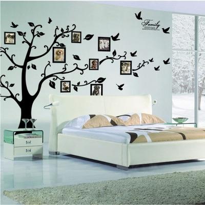 Stickers arbre mural 200 cm X 250 cm - 4 parties ZOOYOO