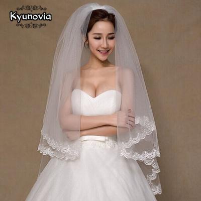 voile de mariée blanc ou beige Kyunovia