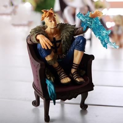 figurine one piece marco le phoenix cm dowin