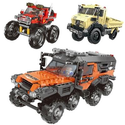 blocs de construction 500 pièces kimifun 3 modeles au choix 1180204
