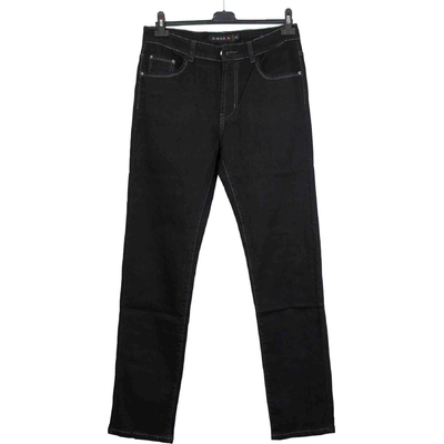 Jean grande taille uni noir 42 au 50 NEUF