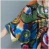 DIMANAF-Femmes-Robe-Plus-Taille-D-t-Motif-Linge-D-impression-Color-Femelle-L-che-Chauve