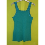 Friperie en ligne femme tee shirt taille 4 vert agathe velmont vetement occasion femme