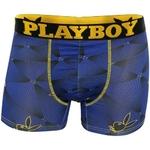 Boxer playboy polyester stretch boxer homme sexy imprimé laser