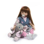 NPK-60-cm-Silicone-Reborn-B-b-poup-e-Pour-Fille-Exquise-Vinyle-Princesse-Enfant-En