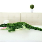 peluche crocodile 100 cm
