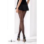 Collant couture noir TI021 Passion lingerie