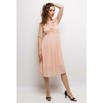 in-vogue-robe-midi-plissee-salmon-3