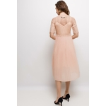in-vogue-robe-midi-plissee-salmon-4