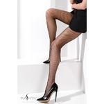 Collant résille noir TI020 Passion lingerie