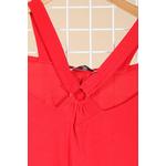 robe rouge grande taille ceremonie 46 au 60 Marque 2w paris r1441a