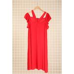 robe rouge grande taille ceremonie 46 au 60 Marque 2w paris r1441