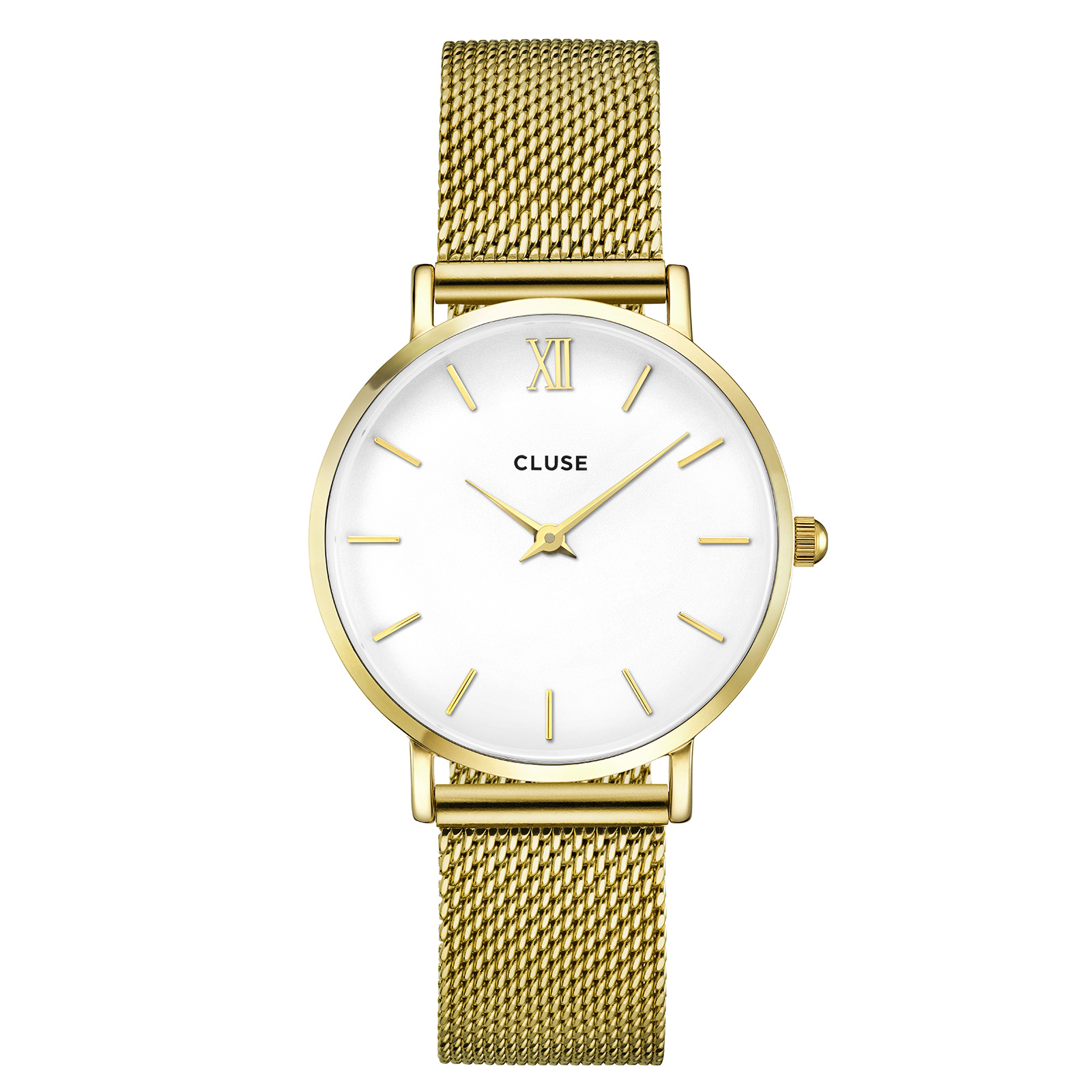 Minuit, Mesh, Gold/White