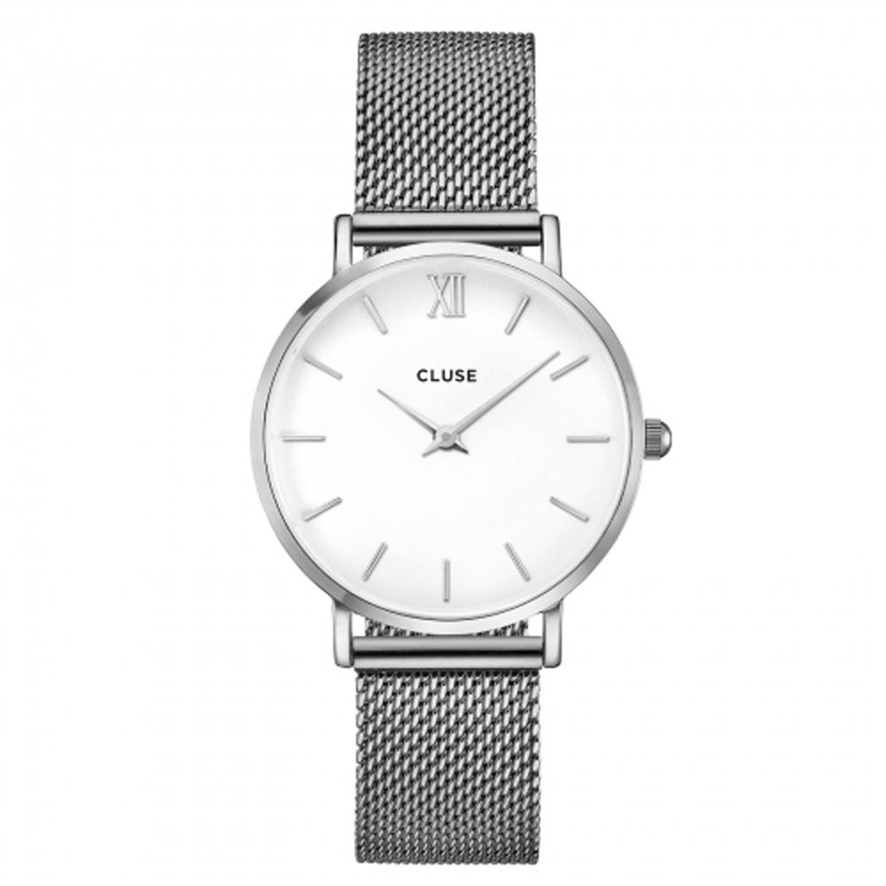 Minuit, Mesh, Silver/White