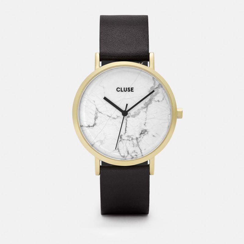 La Roche, Gold White Marble, Black. Cluse 2ad5ef7eee61