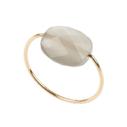 bague friandise or jaune pierre de lune grise bagues femme fines boutique so bijoux. Black Bedroom Furniture Sets. Home Design Ideas