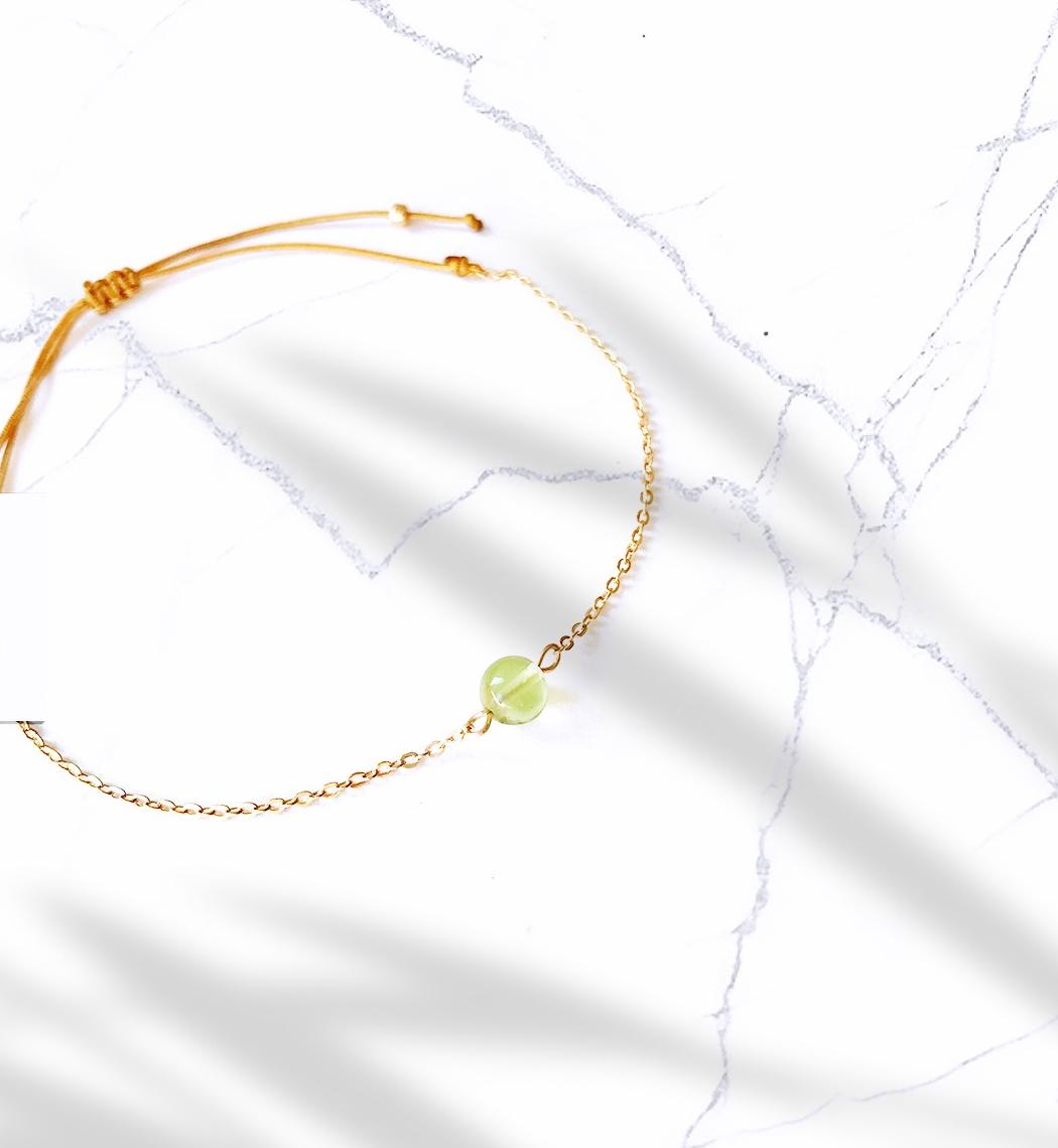 Beau Peridot Bracelet de Bien-/être /Énergie Positive Accessoire de Mode de Gu/érison Coeur Cadeau Hommes Femmes Fait /à la Main Pierre Pierre Pierre Puissante