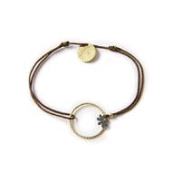 Bracelet cordon Anneau