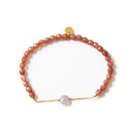 Bracelet Pierre de soleil / Cristal de roche