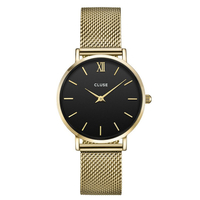 Minuit, Mesh, Gold/Black