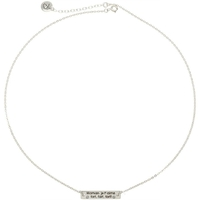 Collier Maman Je T'aime Fort Argent 925
